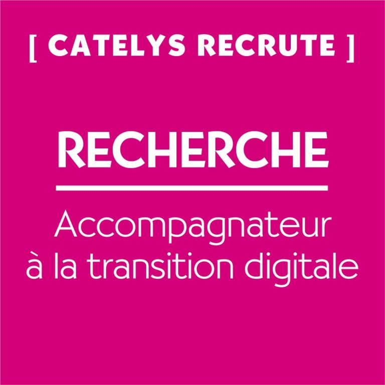 CATELYS RECRUTE !